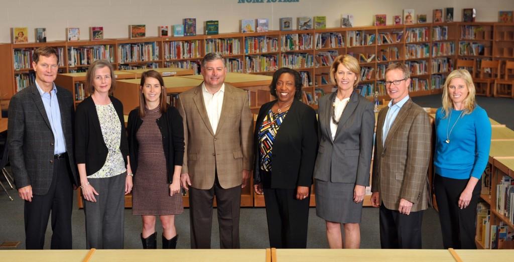 Belk Foundation board meeting at Ashley Park Pre-K K-8 school.