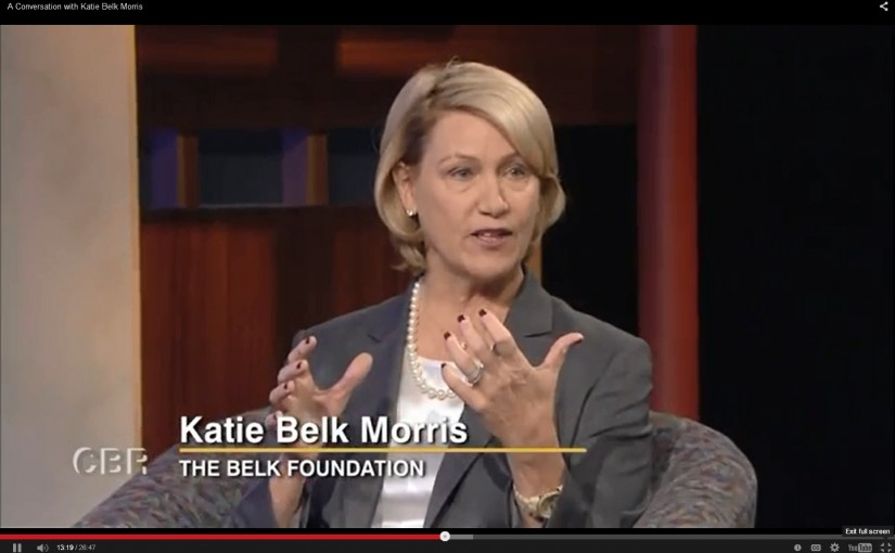 Carolina Business Review – A Conversation with Katie Belk Morris
